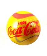 Enjoy Coca Cola Coke Logo Marble Slag Glass Adv... - $8.00