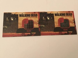 Cryptozoic Walking Dead Season 1 Wardrobe Walker M16 x2 CARDS Variant of... - $16.83