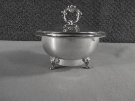 Elton  Warmer with Pyrex Bowl Vintage  Silver Plated - $53.96