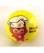 Campbell Soup Kid Logo Yellow Glass Marble Mm M... - $8.00