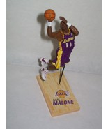 Karl Malone LOS ANGELES LAKERS McFarlane mini basketball figure  NBA MAILMAN - $7.92