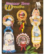 Bazaar Time Wreaths Annie's Attic Crochet and P... - $6.99