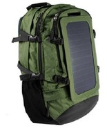 Solar Powered Backpack with Waterproof Power Bank 15,000mAh  - £114.98 GBP