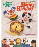 Happy Hangers Crochet Patterns for Children Ann... - $6.50