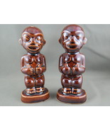 Vintage Kon Tiki Salt and Pepper Shakers - Tiki Baby with Thumbs Up - By... - $45.00