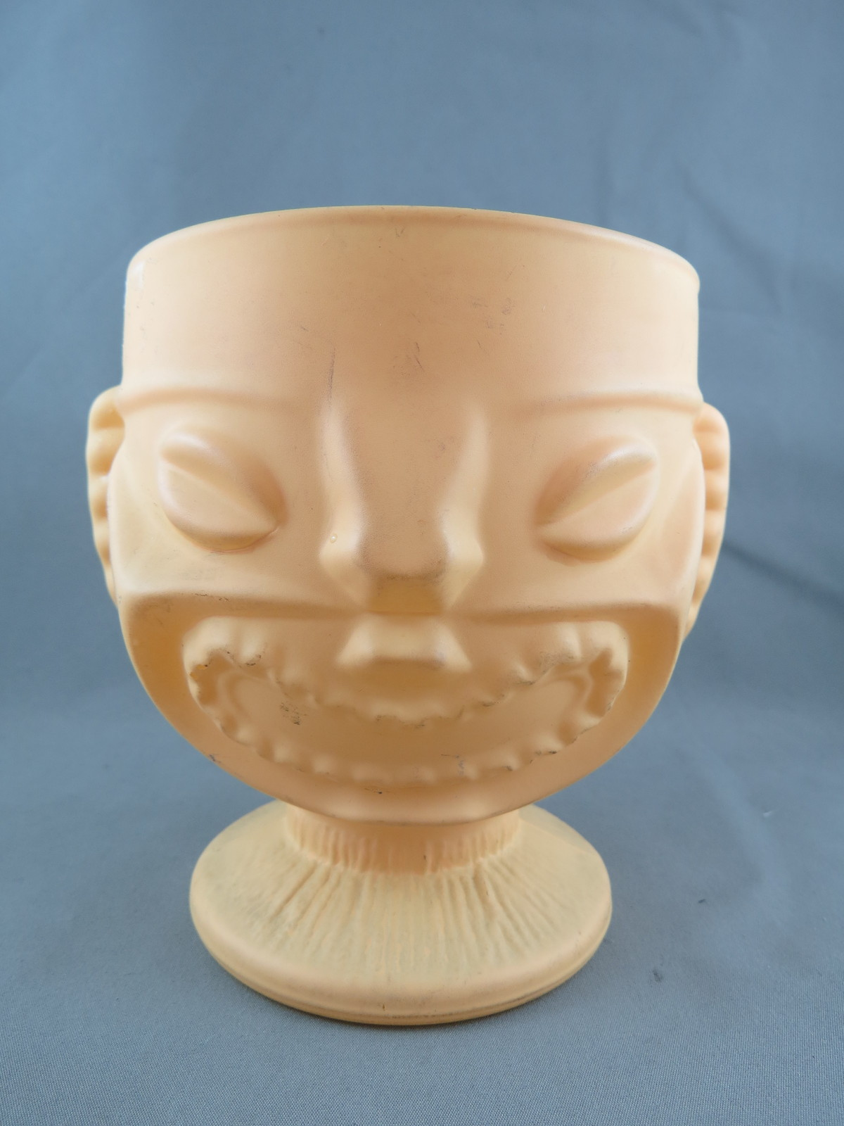 Primary image for Tiki Mug - Happy and Angry Face Ku  - Gold Painted