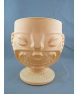 Tiki Mug - Happy and Angry Face Ku  - Gold Painted  - $45.00