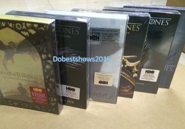 Game of Thrones Complete Series Seasons 1-7 1.2.3.4.5.6.7 DVD Box Set 33 Disc