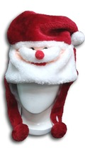 Cute Kawaii Anime Animal Hat Rave Beanie Cap Furry Plush Cosplay Santa C... - €8,32 EUR