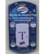 American Tourister Country Traveler Worldwide Electrical Adapter Plug NIP - $12.99