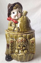 The Pumpkin Eater Cookie Jar Peter and Wife Vin... - $59.34