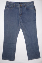 Big Men Denim Jeans CROFT & BARROW Size 42 x 32 Classic Fit ~BLUE~ NEW - $18.65