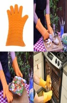 Charcoal Companion CC5154 Gants à barbecue Silicone Orange 2,49 x 17,09 ... - $22.02