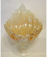 Murano Glass Shell Formed Bowl Irridescent Large - $1,296.40