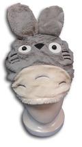 Neighbor Totoro Kawaii Gray Plush Cosplay Costume Soft Hat--Snowboard Ke... - $6.99