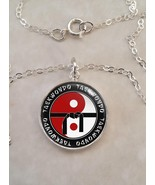 Sterling Silver 925 Pendant Necklace Taekwondo Martial Arts MMA - $30.20+
