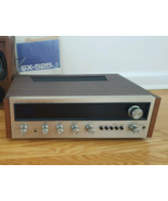 Vintage Pioneer SX-525 AM/FM Solid State Stereo Receiver Works w/ manual - $25.00
