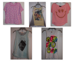 Girls Boutique Shirts Tops Sleeveless Short Sleeve You Pick Size 10 12 1... - $12.55