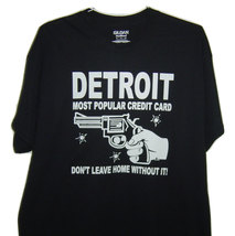 """Free Shipping Detroit funny T/Shirt """" Detroit most popular credit card d... - $15.99+"""