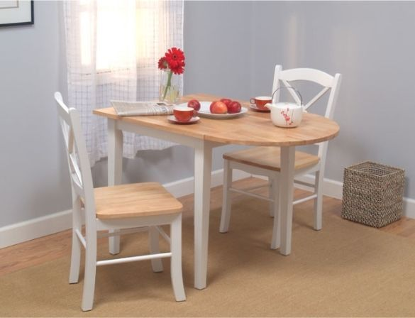 Small kitchen table and chairs 2 for small spaces two for Small kitchen tables and chairs for small spaces
