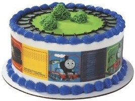 Thomas Train Edible Cake Topper Party Supplies Strip Decoration Tank James Top * - $8.86