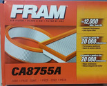 Fram CA8755A Extra Guard Flexible Panel Air Filter New