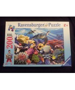 Ravensburger 200 Piece Ocean Turtles Jigsaw Puzzle # 126088 Age 8 and up... - $17.63