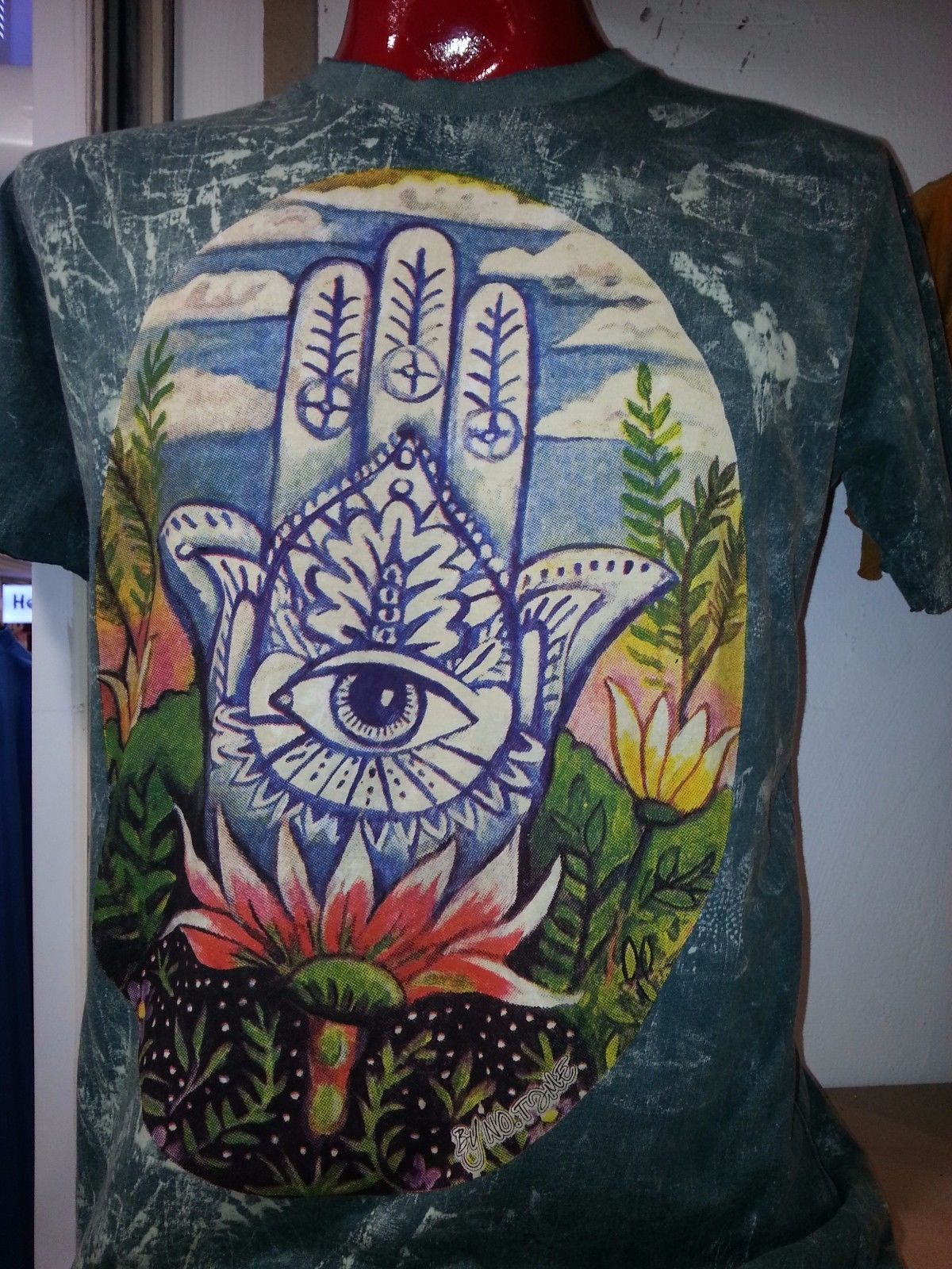 men t shirt 100/% cotton short sleeve retro Graphic Earth Sun Om PEACE m NO TIME
