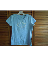 Womens T-Shirt by New York and Company SIze Medium color blue - $8.58