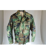 Vintage-US-Army-Mens-Green-Camouflage-Field-Fatigue medium extra short - $46.73
