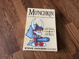 Munchkin Game Steve Jackson - 1st Edition - 25th Printing - Opened Never... - $18.69