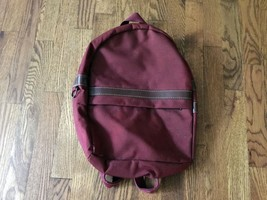 Vintage Maroon Burgundy Samsonite Bookbag Backpack School Carry On Luggage  - $51.41