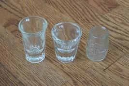 Lot of 5 Vintage Shot Glasses - Jim Beam Whiskey Barrel Baseball - €9,74 EUR