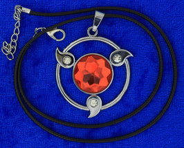 Naruto Sharingan Necklace Anime CosPlay Chain Style Length Choice - $4.99+