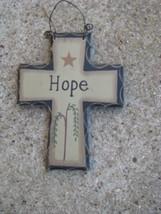 WD802 - Hope Mini Wood Cross  - $1.95