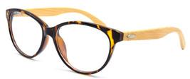 Vintage Womens Cat Eye Wooden Eyeglass Frames Keyhole Eyewear Spectacles... - $12.99