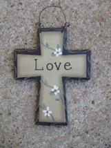 WD804 - Love Mini Wood Cross  - $1.95