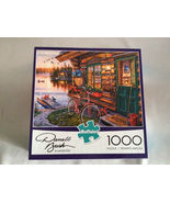 Jigsaw Puzzle, Summertime, Buffalo Games, 1000 Pieces, by Darrell Bush, ... - $8.00