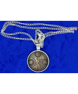Timelord Necklace Seal on Ancient Paper Brown/S... - $4.99 - $6.49