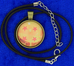 Dragon ball z cabochon necklace choker thumb200
