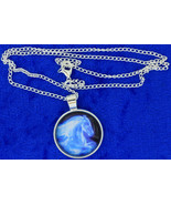 Patronus Horse Necklace Ginny Weasly Ghost Spirit Chain Style Length Choice - $4.99+