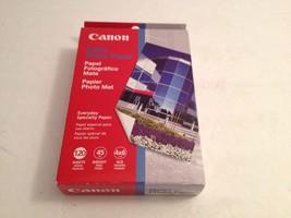 "CANON Matte Photo Paper (4"" X 6""; 120 Pk) sealed. - $16.34"