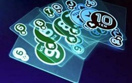Playing Cards Glow In the Dark Card Game Poker Playing Cards Toys & Hobbies - $12.03