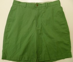 Brooks Brothers Green 346 Flat Front Mens Short... - $18.98