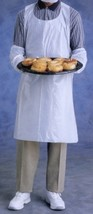 "* 25 Ansell FoodMates 28"" x 46"" Disposable Full-Size Bib Aprons 972199 B... - $22.99"