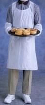 "* 10 Ansell FoodMates 28"" x 46"" Disposable Full-Size Bib Aprons 972199 B... - $12.99"
