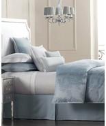 Hotel Collection Salon Wisteria Floral Blue Full/Queen Duvet / Comforter... - $109.00
