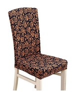 Elastic Chair Protector Cover for Dining Room, Hotel - $13.37
