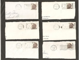 Set of Six Franklin D. Roosevelt 6 Cent Postage... - $14.00
