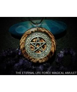 """THE ETERNAL LIFE FORCE MAGICAL AMULET  """"Change & Illuminate Your Life""""  - $135.00"""